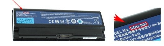 Packard Bell laptop batteri guide
