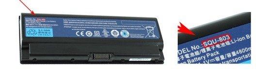 Packard Bell laptop batteri guide