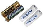 Alkaline batterier og hybrid batterier