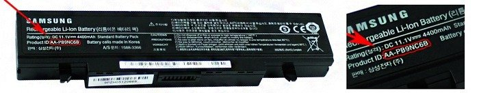 Samsung laptop batteri guide