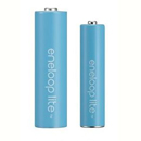 Panasonic eneloop lite batterier